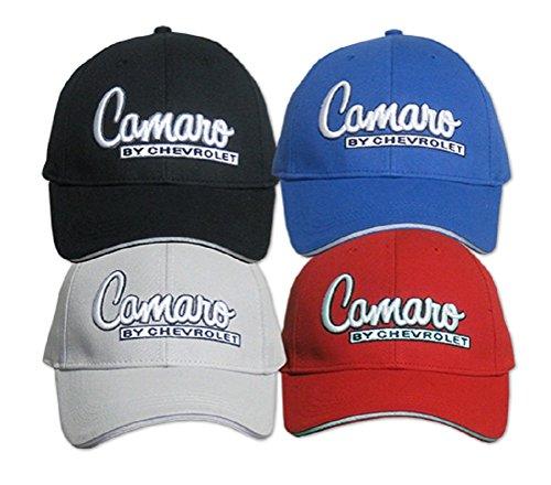 Chevrolet Camaro Men's Embroidered Hat (Black)