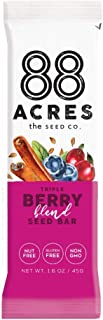 product image for 88 Acres, Triple Berry Blend Seed Bar, 1.6 Ounce