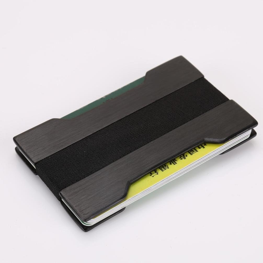 Kanzd Men Metal Wallet Credit Card Holder Aluminum Money Clip Wallet With Blocking
