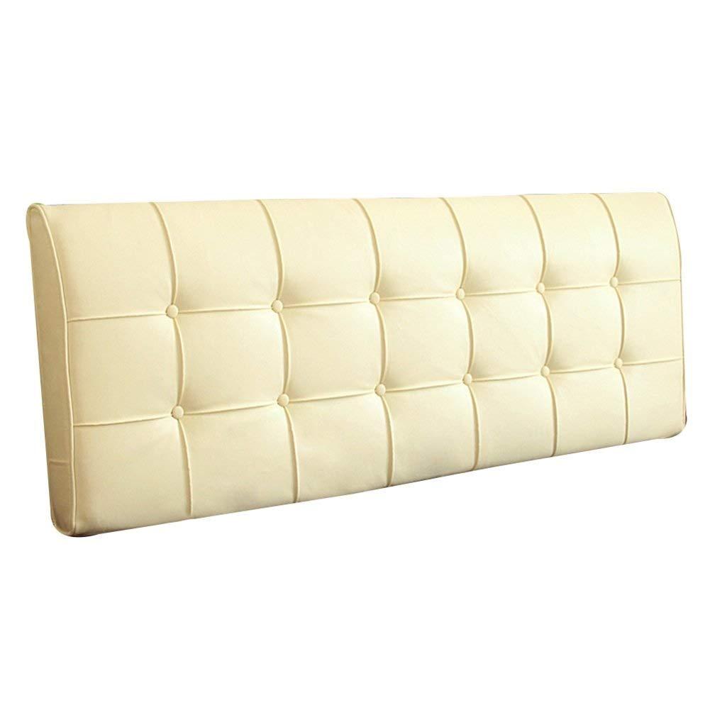 [宅送] ベッドサイド : クッション ベッドの背もたれ 9色、 (色 ヘッドボード ベッドサイド カバー ベッド バックレスト クッション 柔らかい ヘッドレスト 布張り 腰椎 パッド ファッション、 9色、 マルチサイズ (色 : ブラック, サイズ さいず : 163x10x55cm) B07R7SMW8X 193x10x55cm|クリーミーホワイト クリーミーホワイト 193x10x55cm, オーパーツ:963612ff --- mail.eastcoastaudiovisual.com
