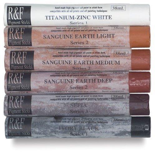 R&F Pigment Sticks, 38ml, Blending Stick by R&F Handmade Paints ()