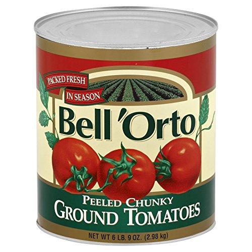 (Bell'Orto Chunky Peeled Tomato Puree (6lb Tin))