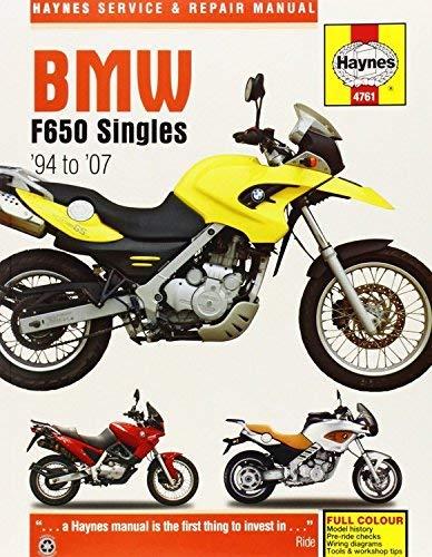bmw f650 singles 94 07 (haynes service and repair manuals) (2014 11 BMW 325I Plug Wiring Diagram