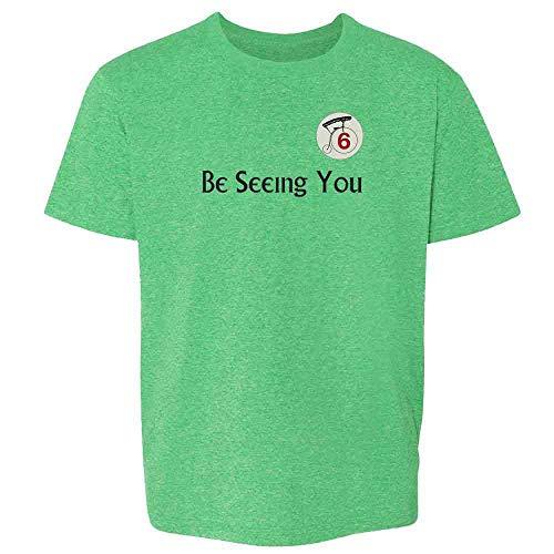 Be Seeing You Number 6 Cult Heather Irish Green 6 Toddler Kids T-Shirt -