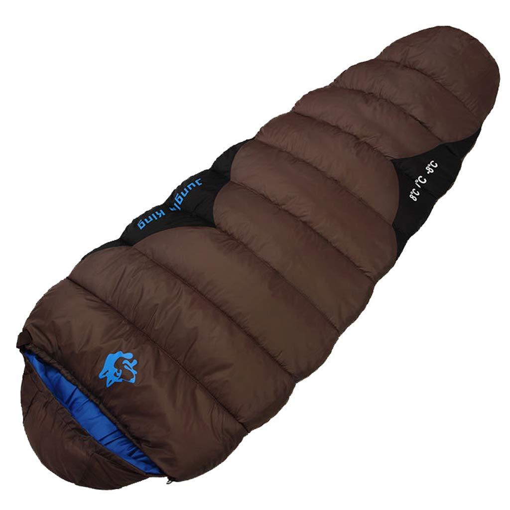 Sleeping bag Mum Schlafsack, Wasserdicht, Mit Kompressionssack, Tragbar Und Leicht, FüR 3-4 Saison Camping, Wandern, Reisen, Backpacking Und Outdoor-AktivitäTen