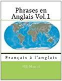 Phrases en Anglais Vol. 1, Nik Marcel and Monique Cossard, 1494993635