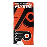 """NHL """"Zone Read"""" Beach Towel, 30-inches x 60-inches"""