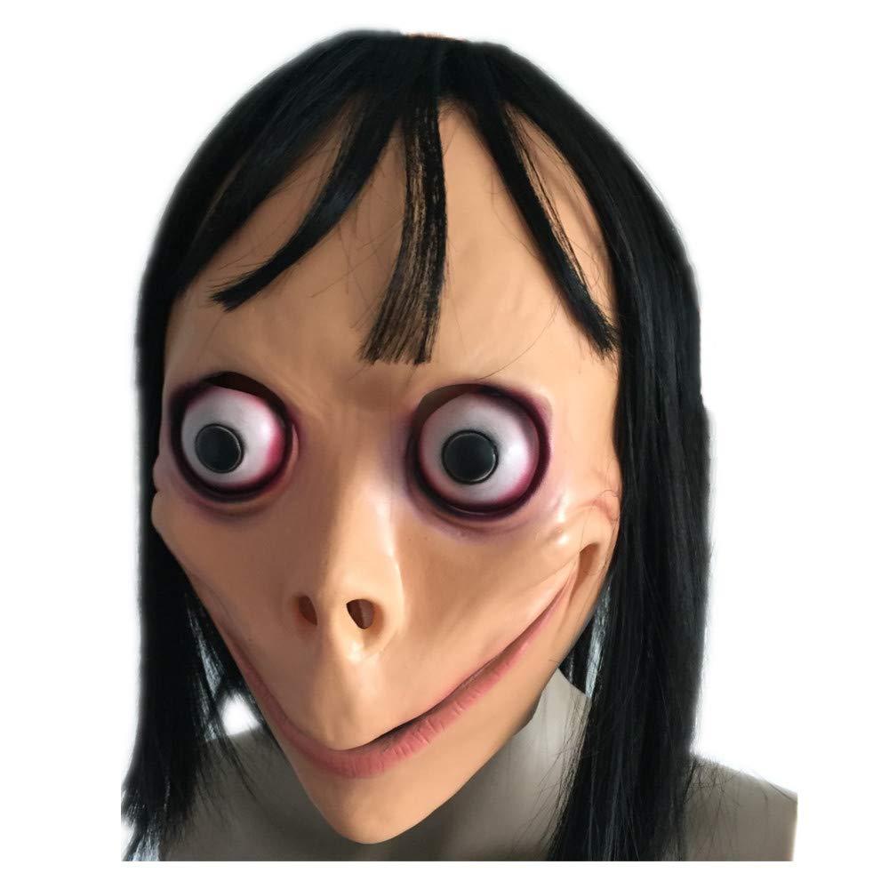 TAIMEI Momo Hacking Overhead Mask with Wig