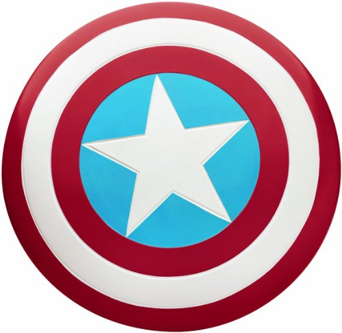 Captain America Adult Shield (Standard) (Adult Captain America Shield)
