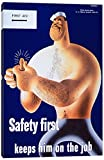 iCanvasART PCA377-1PC3-18x12 Icanvas Safety First Keeps Him on the Job, 18'' x 12''