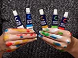 Acrylic Paint Set & Brushes by Creative Joy-Vivid