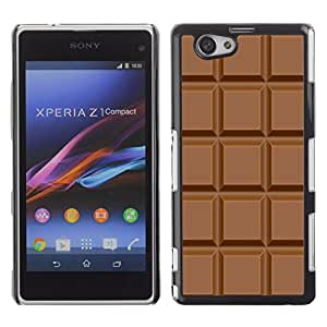 Graphic4You Chocolate Bar Design Hard Case Cover for Sony Xperia Z1 Compact (Mini)