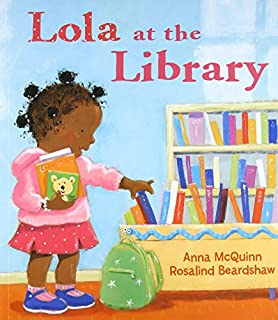 Book Cover: Lola at the Library