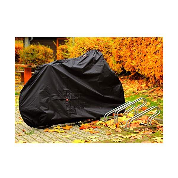 51zjMdtpB9L BARTSTR Fahrradabdeckung wasserdicht - Wetterfeste Fahrradgarage aus reißfestem Material - Extra stark, hoher UV-Schutz…