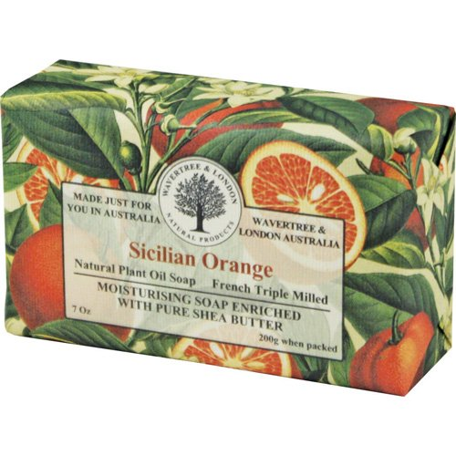 Australian Soapworks Wavertree & London 200g Soap Set of 4 – Sicilian Orange Review