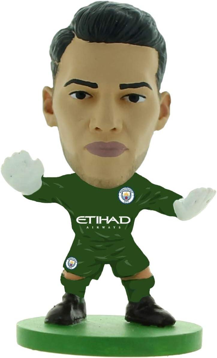 SoccerStarz SOC1310 Man City Ederson-Home Kit (2019 Version) /Figures, Green
