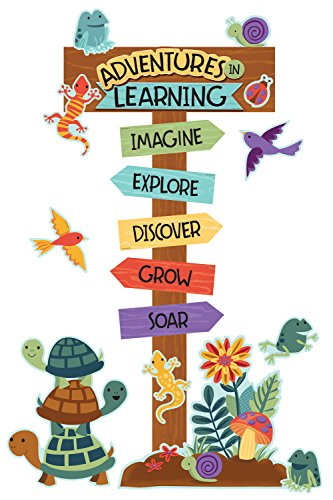 Adventure Bulletin Board Set - Carson Dellosa Nature Explorers Adventures in Learning Bulletin Board Set (110389)