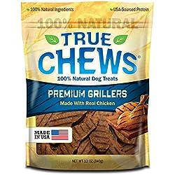 True Chews Premium Grillers Dog Treats, Chicken, 12 Ounce