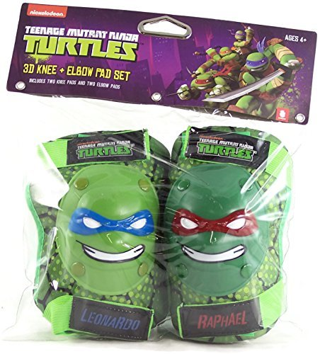 Teenage Mutant Ninja Turtles 3D Knee and Elbow Pad Set]()