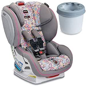 britax advocate clicktight convertible car seat with cup holder limelight baby. Black Bedroom Furniture Sets. Home Design Ideas
