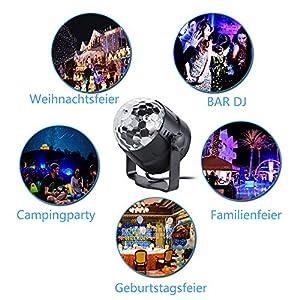 51zjNxvV1sL. SS300  - Anpro-Discokugel-Discolicht-mit-15-Beleuchtungsform-Partylicht-Led-Disco-Ball-Light-Disco-Lichteffekte-RGB-LED-Partybeleuchtung-fr-halloween-deko-Kinder-Geburtstag-Club-Party-MEHRWEG  Anpro-Discokugel-Discolicht-mit-15-Beleuchtungsform-Partylicht-Led-Disco-Ball-Light-Disco-Lichteffekte-RGB-LED-Partybeleuchtung-fr-halloween-deko-Kinder-Geburtstag-Club-Party-MEHRWEG 51zjNxvV1sL