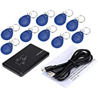 KKmoon RFID 125KHz Proximity Smart EM Card ID Reader with 10pcs ID Cards