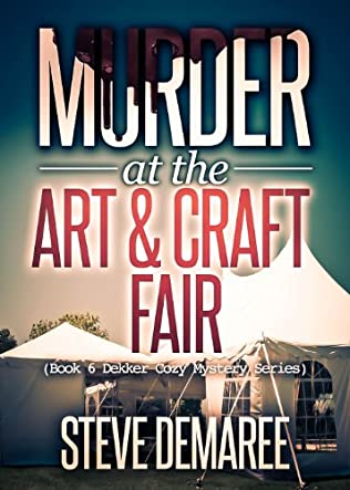 book cover of Murder At the Art & Craft Fair