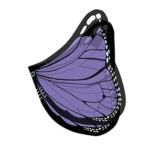 Shireake Baby Cartoon Butterfly Wings Costume Play Butterfly Wings for Kids Purple ()