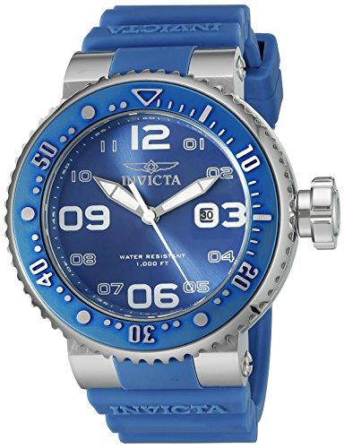 Invicta Men's 21519 Pro Diver Analog Display Japanese Quartz Blue Watch