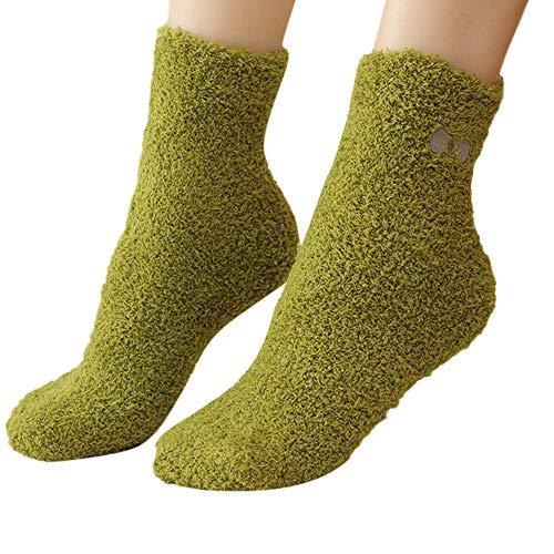 HYIRI ✈ Xmas Christmas Lazy style Bow Socks,Women's