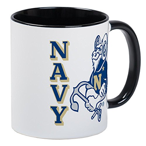 - CafePress U.S. Naval Academy Bill The Goat Unique Coffee Mug, Coffee Cup