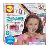 ALEX Toys - Do-it-Yourself Wear! Zippy Zipper Jewelry 177E