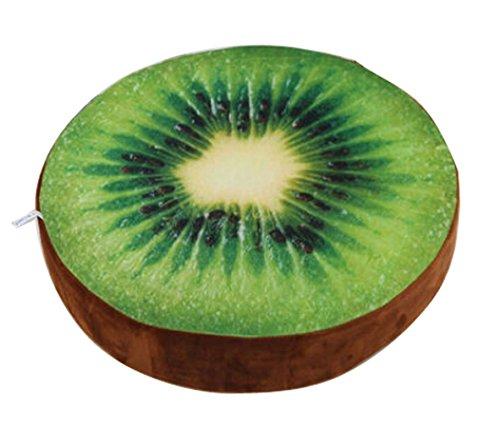 DIS Filz-Spielzeug lustiges Obst-/Baum-Kissen, weich, Geschenk: Banana, Wassermelone, Orange, Kiwi, Platane und Ginkgo-Kissen