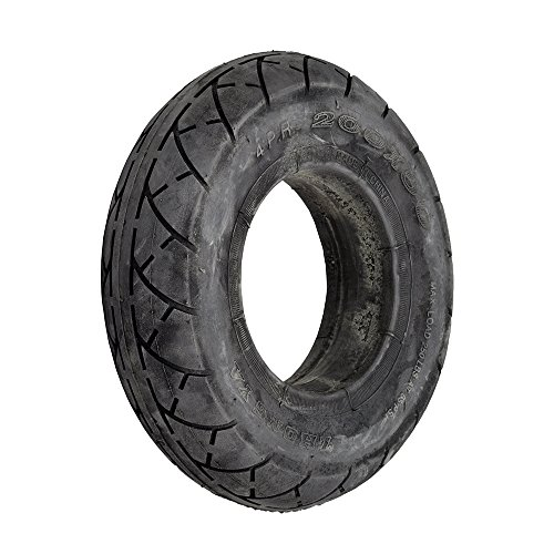 RAZOR SCOOTER TUBELESS SOLID NO FLATS TIRE 200 X 50 (8 X 2) E100 E150 E175 E200 (Rubber Rear Wheels)