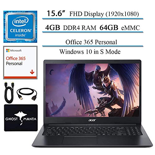 🥇 Newest Acer Aspire 1 15.6″ FHD laptop business and student