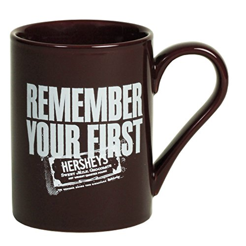 - Hershey's Remember Your First Mug, Munsell Maroon, 10oz
