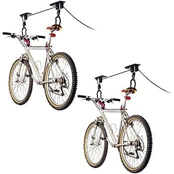 2-Bike Elevation Garage Bicycle Hoist Kit