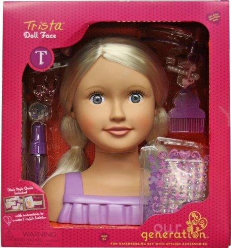 tomar hasta un 70% de descuento Our Generation Generation Generation Trista Doll Face by Our Generation  edición limitada en caliente