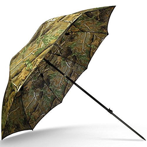 DD-Tackle Angelschirm 45 220cm mit Umhang Camouflage Camo