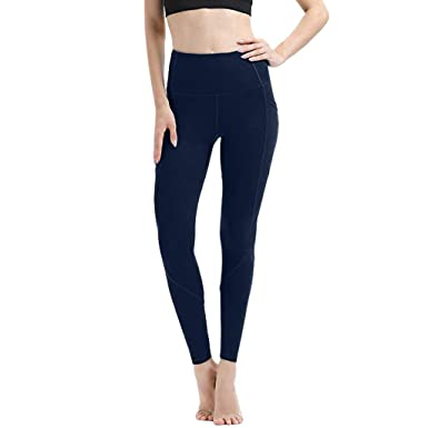 Vectry Pantalones Yoga Blancos Pantalones Deportivos Mujer ...