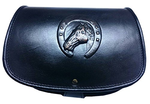 Koson Leather Handmade Handbag Unique Horse Horseshoe Lucky Design Genuine Leather