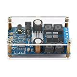 DROK Digital Amplifier Wireless Bluetooth 3.0/4.0/4.1 Audio Amp Board Headphone 2 Channel 50W+50W Small Amplifier Module with Protective Shell