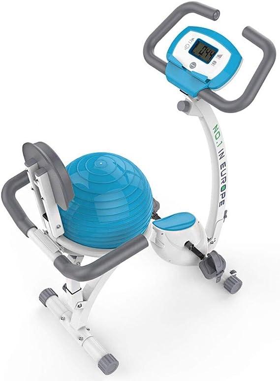 Bicicleta estática con asiento de bola de yoga, bicicleta de ...