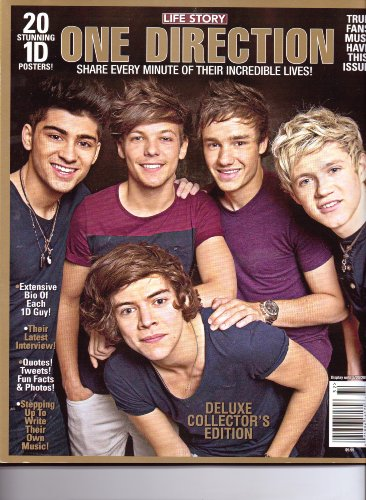 ONE DIRECTION - Life Story Magazine - 20 Stunning Posters. DeLuxe Collector's Edition .