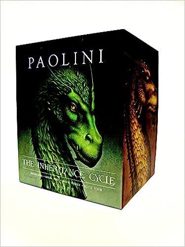 Buy Inheritance Cycle 4 Book Hard Cover Boxed Set Eragon Eldest