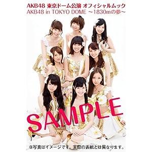 『AKB48 東京ドーム公演 オフィシャルムック AKB48 in TOKYO DOME ~1830mの夢~』