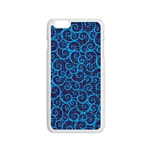 Blue simple unique pattern Phone Case for iPhone 6