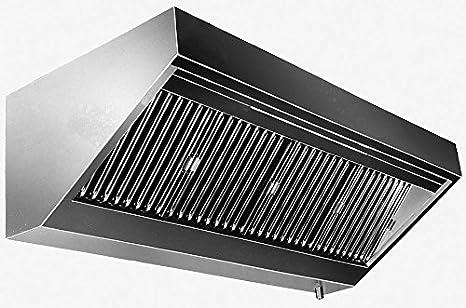 Pared Campana sin motor (Longitud X Profundidad): 200 x 70 cm con protección ignífuga filtro clase A: Amazon.es: Grandes electrodomésticos