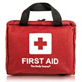 90 Pieces First Aid Kit - All-Purpose with Premium Medical Supplies and Soft Case for Home, Office, Car, Camping and Travel