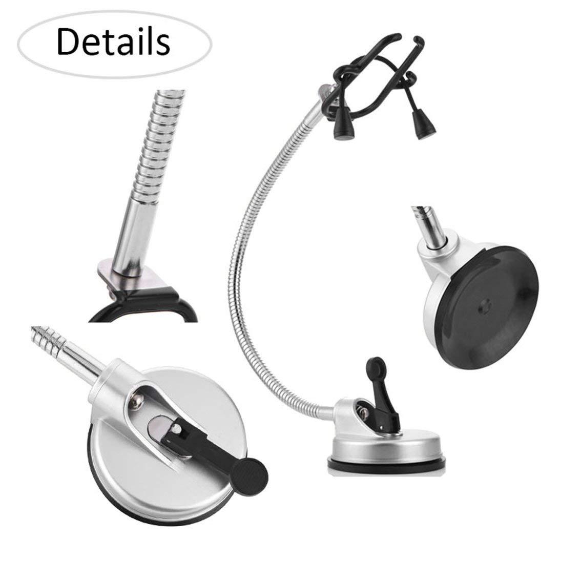 Togames-IT Porta-phon a 360 ° Porta-asciugacapelli con supporto per ventose 8a9a2ae5fe7b